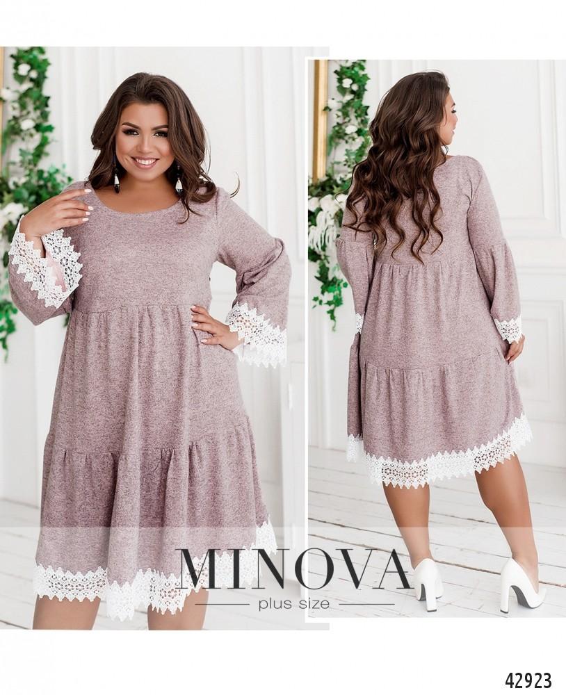 Платье №926-бежевый