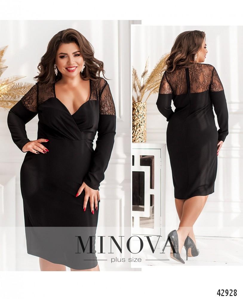 Платье №18861-1-черный