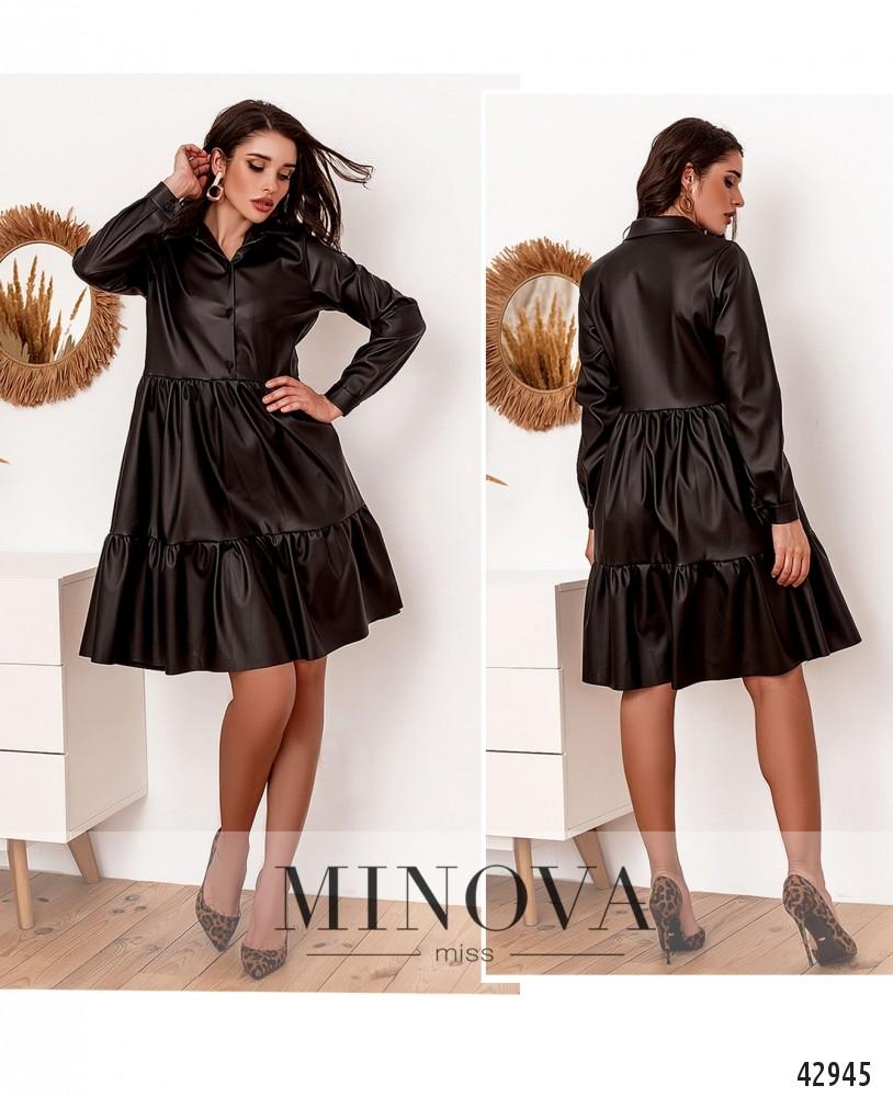 Платье №2162-черный