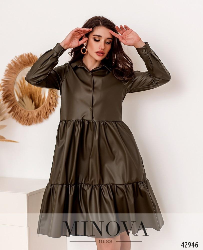 Платье MA2162-хаки (н)