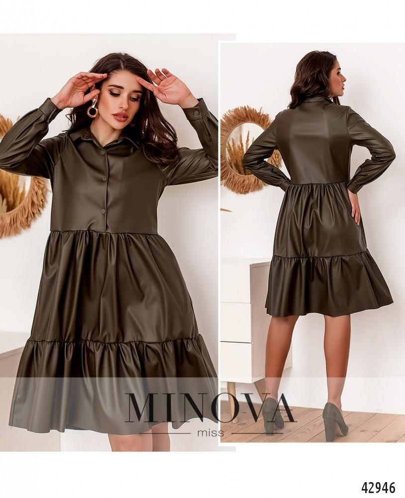Платье №2162-хаки