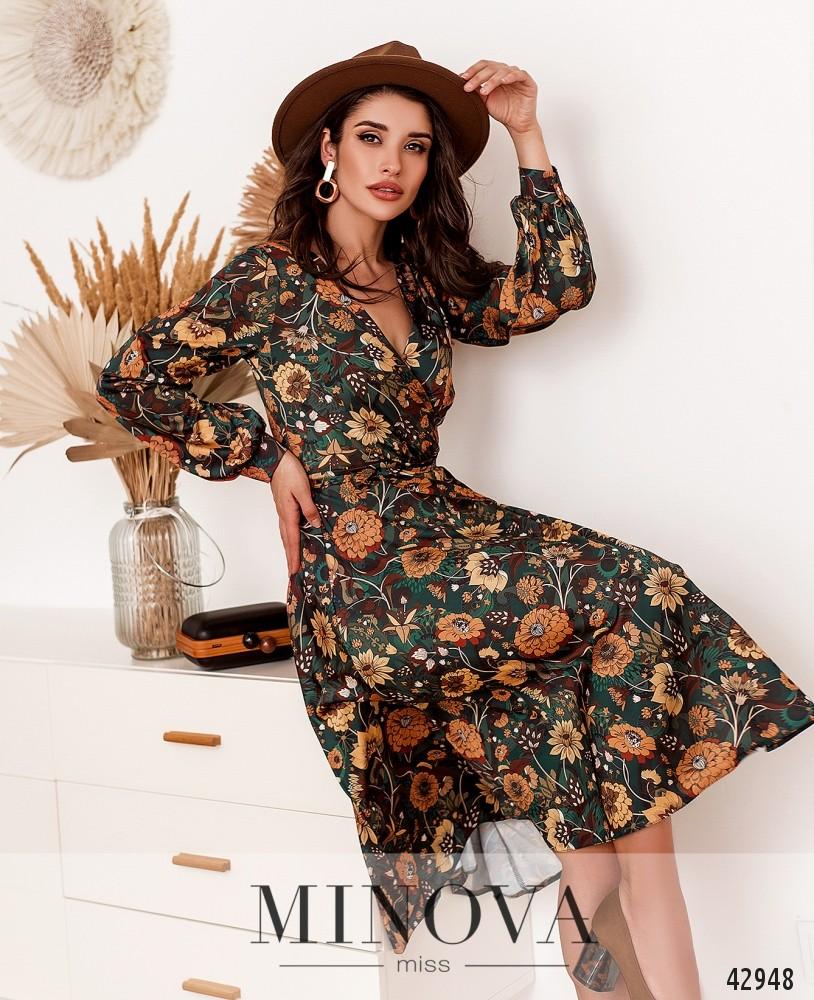 Платье MA2033-горчичный (н)
