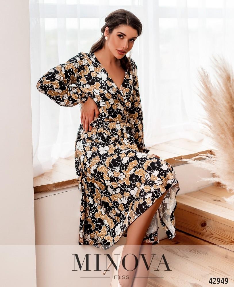 Платье MA2033-бежевый (н)