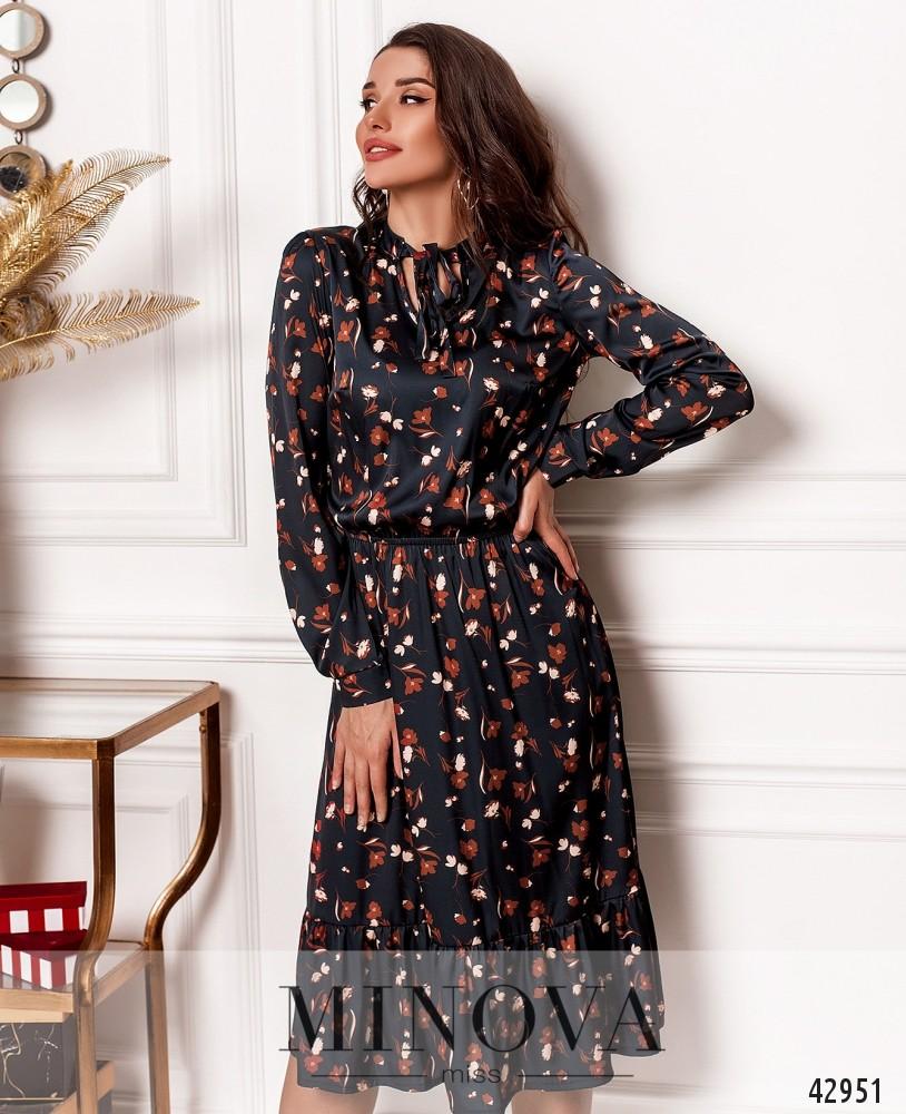 Платье MA2117-1-синий (н)