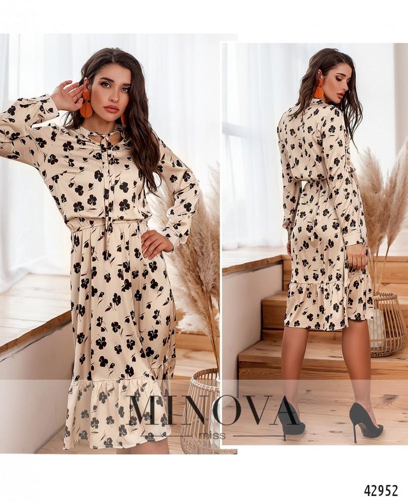 Платье №2117-1-белый