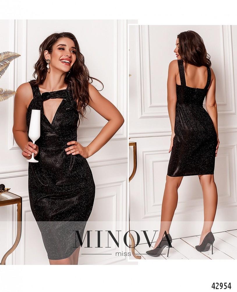 Платье №1121-черный