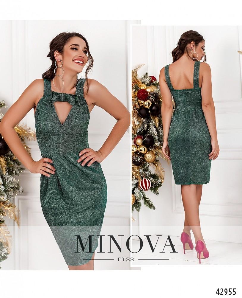 Платье №1121-серебро