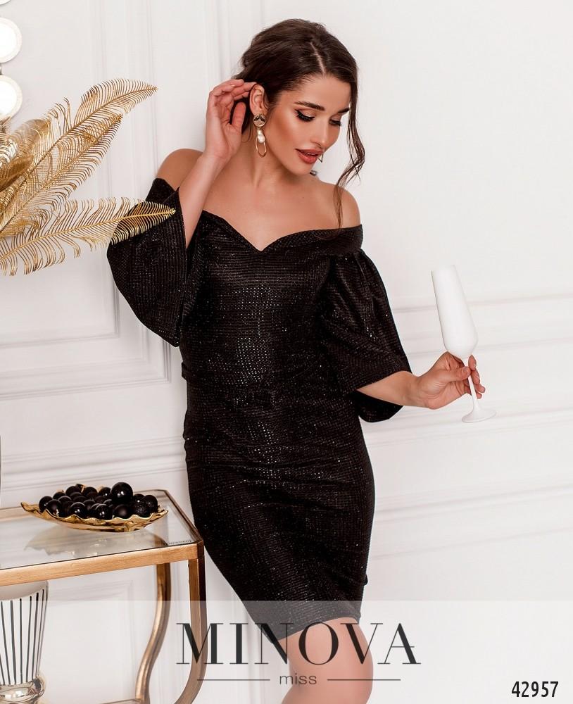 Платье MA1125Н-черный (н)