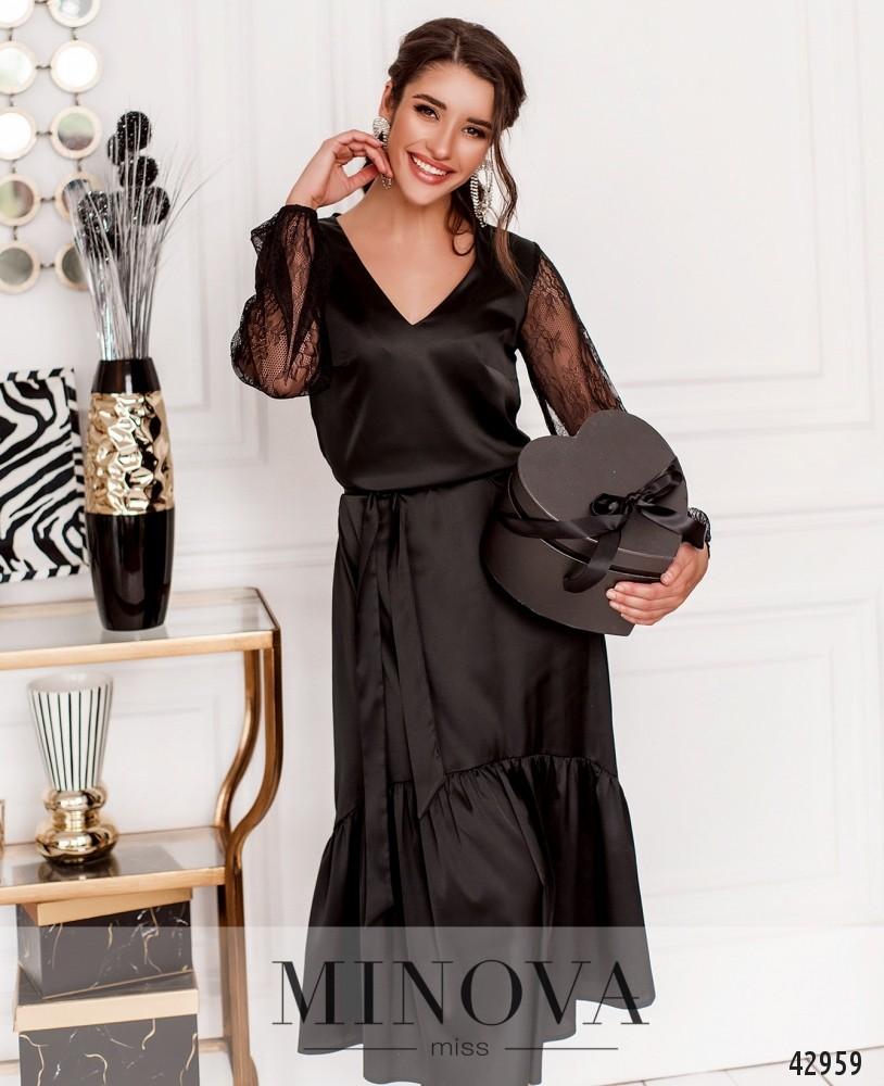 Платье MA18102-черный (н)