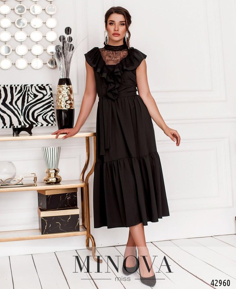 Платье MA18911-черный (н)