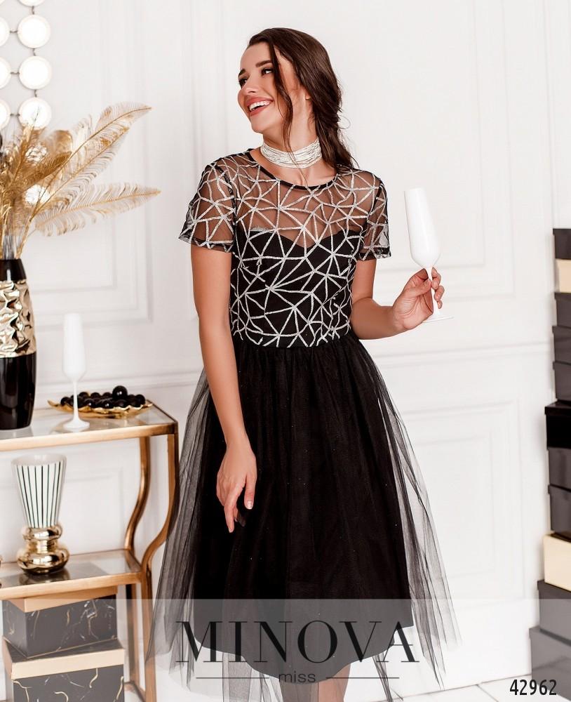Платье MA17273-черный (н)