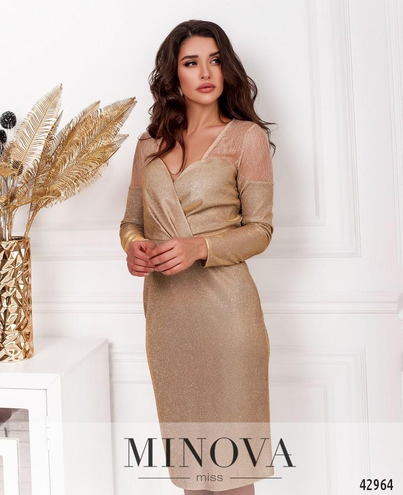 Платье MA18861-бежевый (н)
