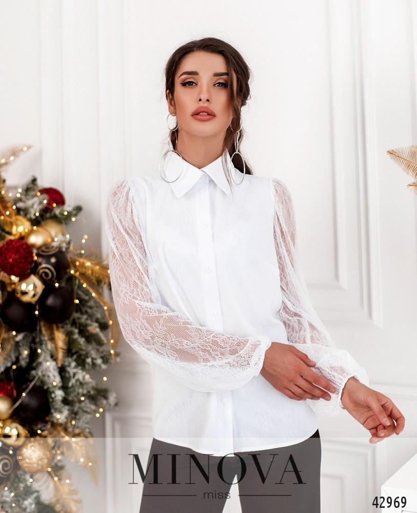 Рубашка MA18993-белый (н)