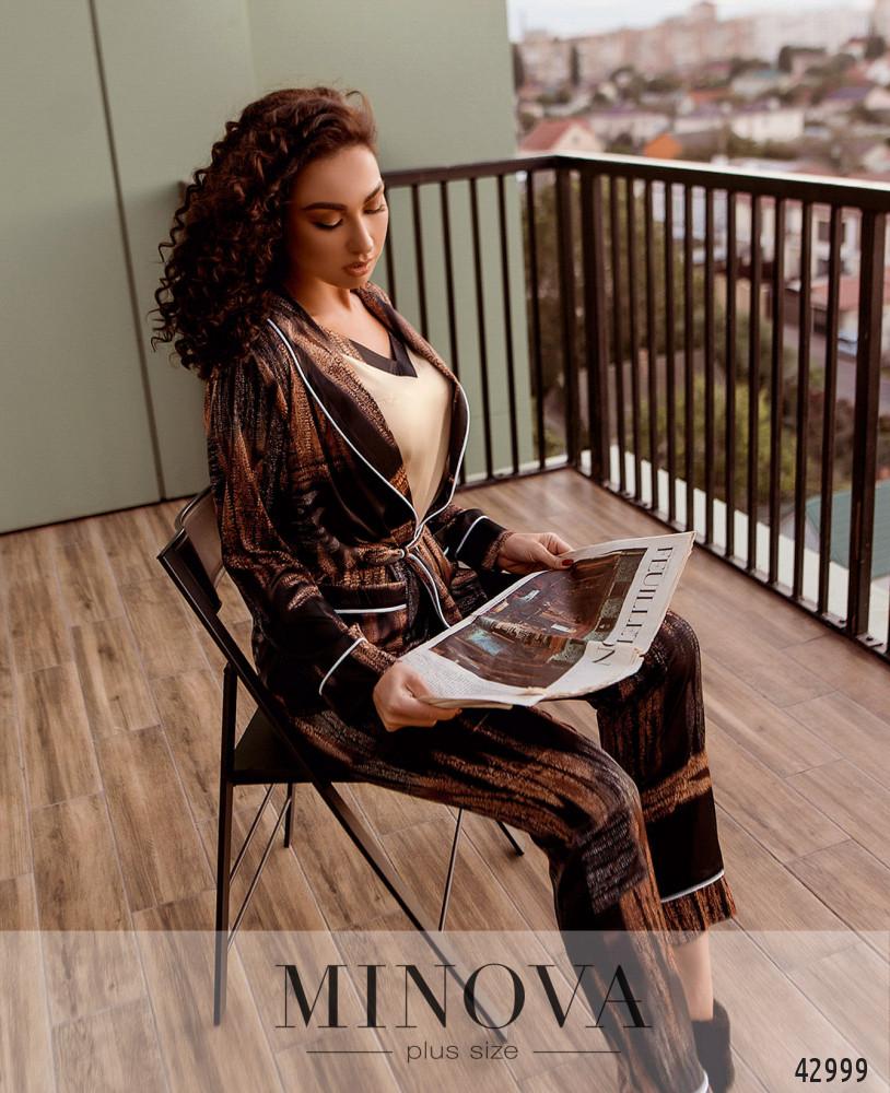 Пижамный комплект 3ка MA2095Б-черный