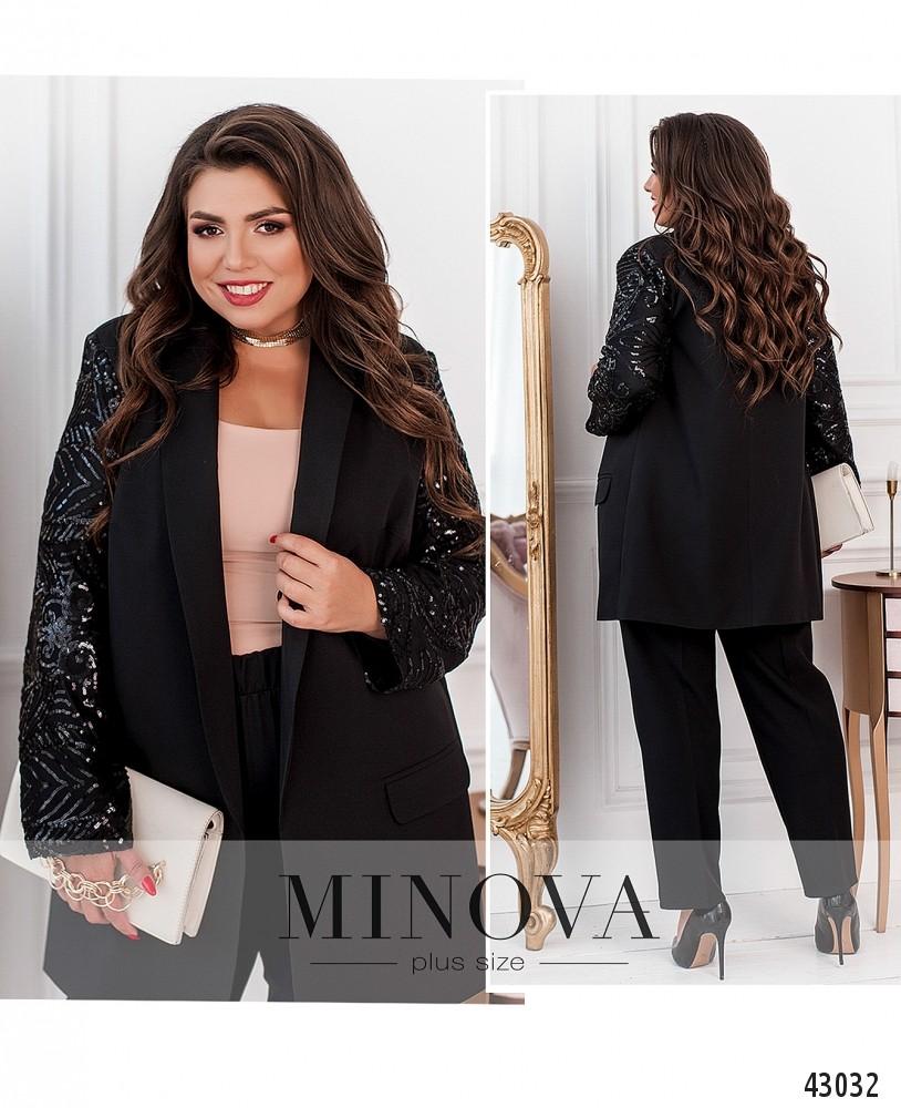 Пиджак №17243-1-черный