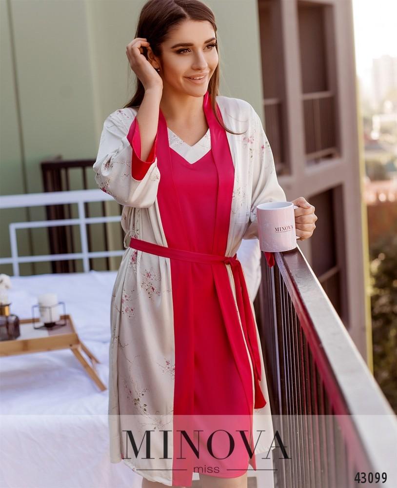 Пижамный комплект MA2098-розовый (н)
