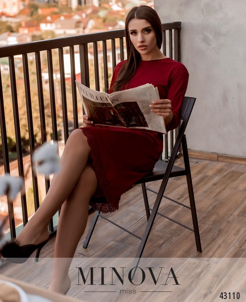Домашнее платье MA2090-красный (н)