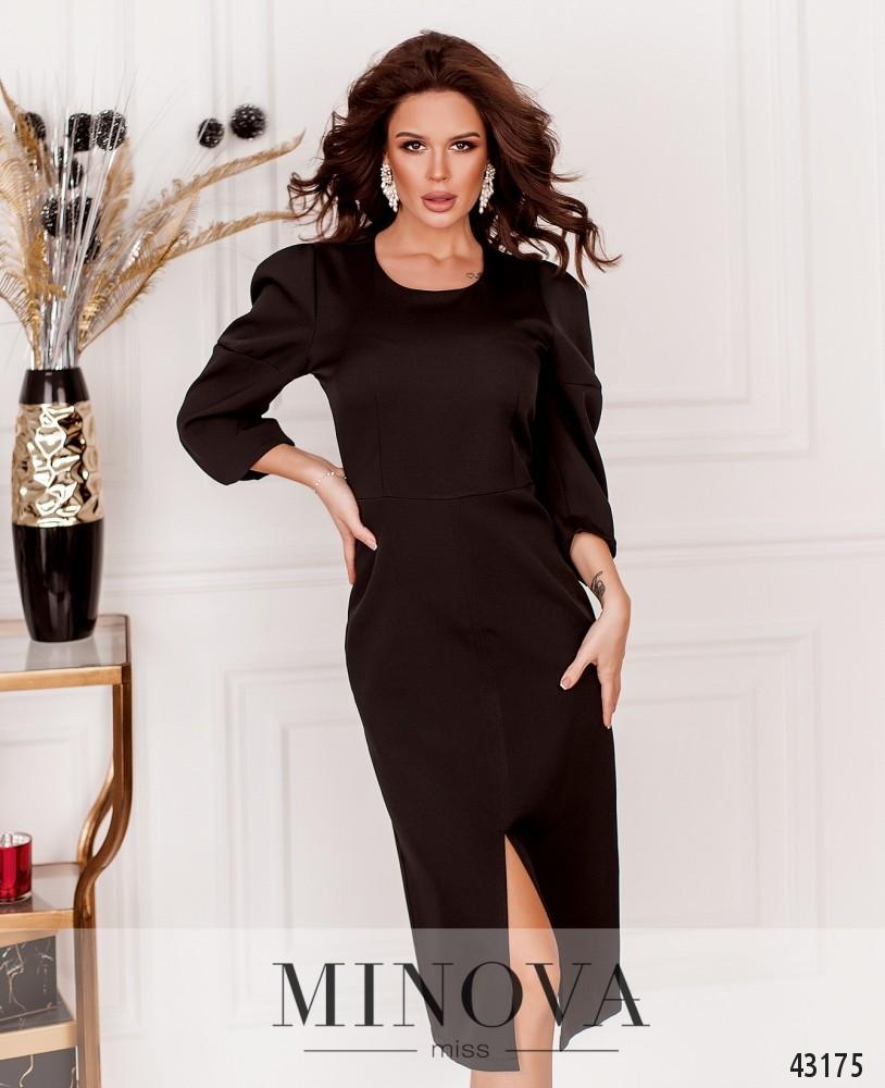 Платье MA122Н-черный (н)