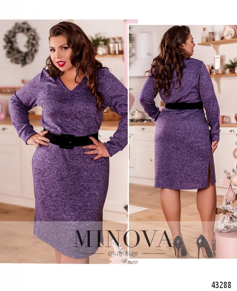 Платье №2078-1-фиолетовый-М
