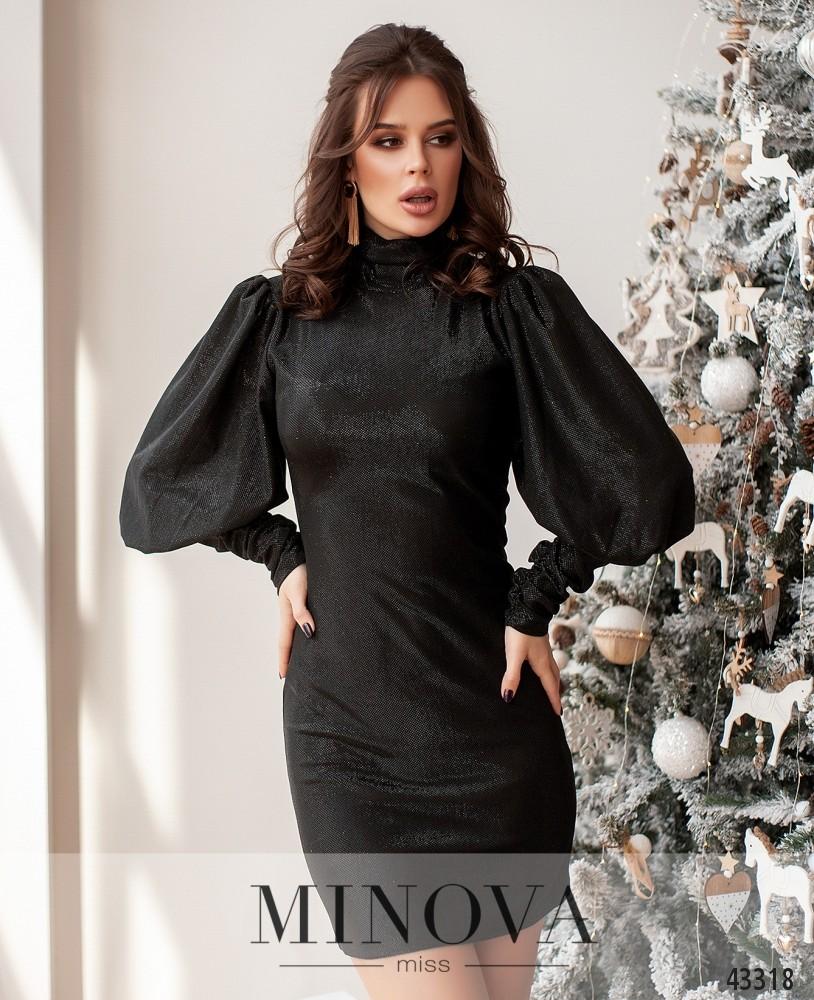 Платье №172Н-черный (н)