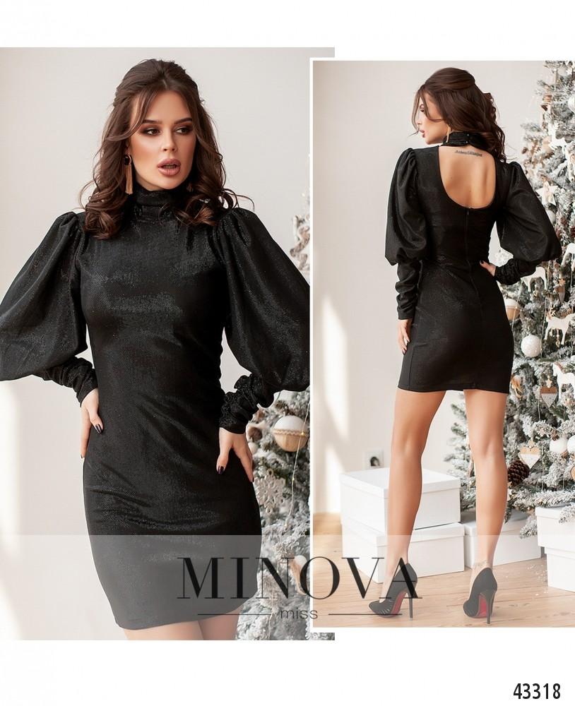 Платье №172Н-черный-М
