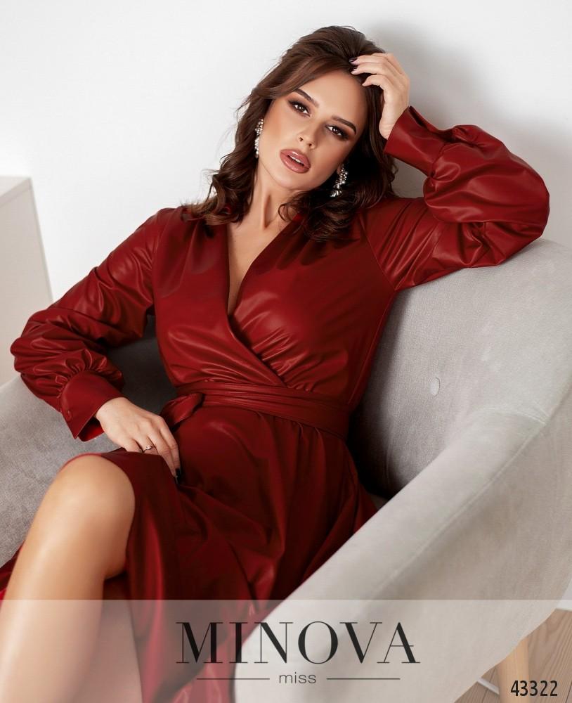 Платье №1078-красный (н)
