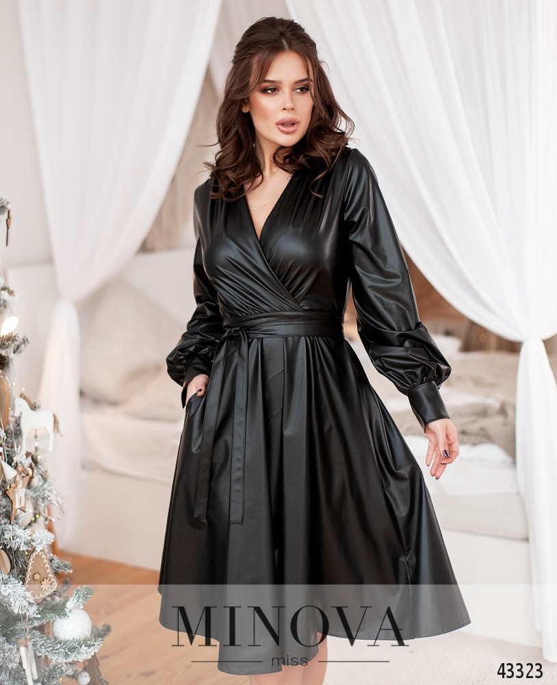 Платье №1078-чёрный (н)
