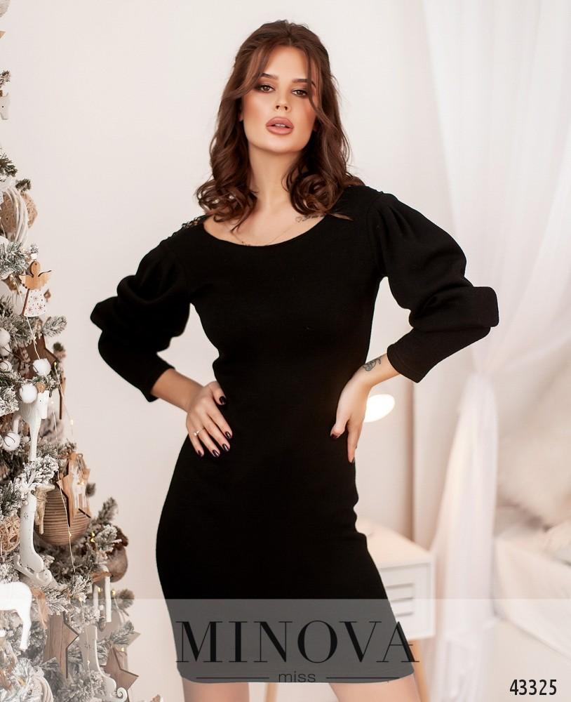 Платье №1077Н-чёрный (н)