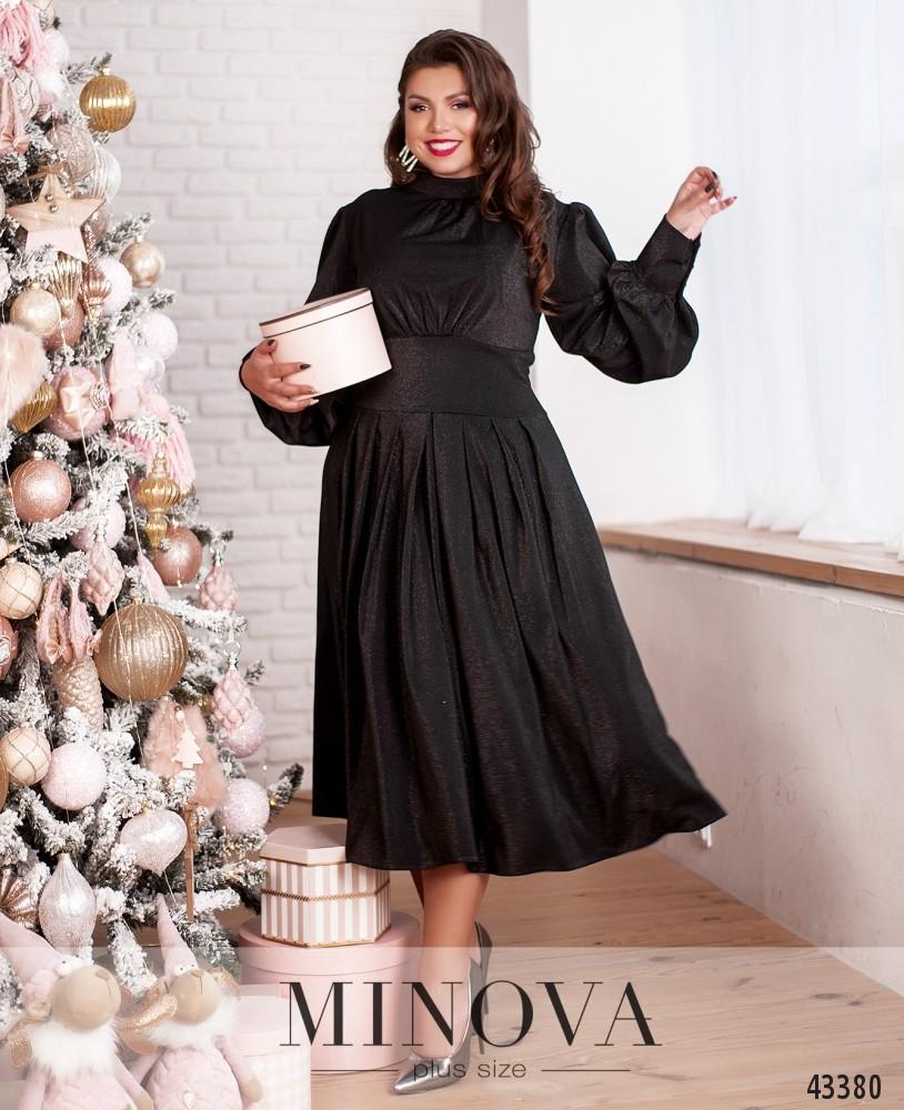 Платье №145-1-черный