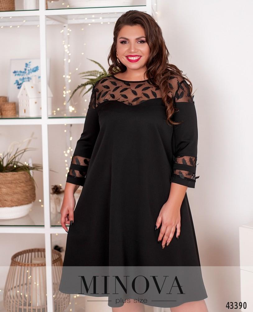 Платье №40302-1-черный
