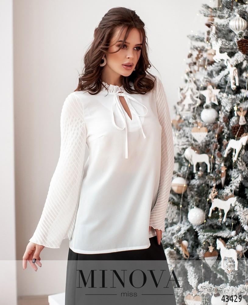 Блуза MA110-белый (н)