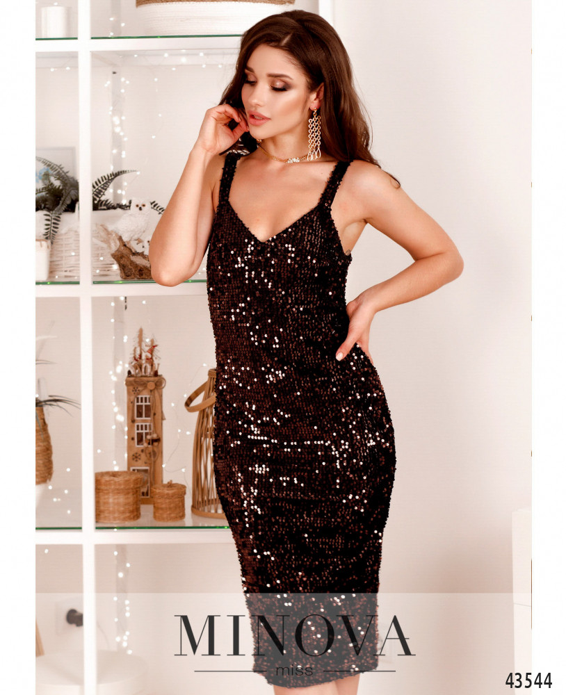 Платье MA2040-бронза (н)