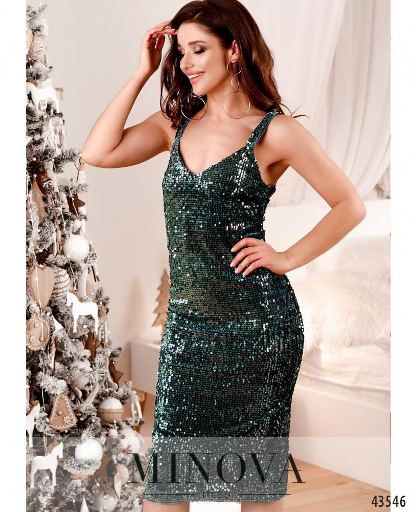 Платье MA2040-морская-волна (н)
