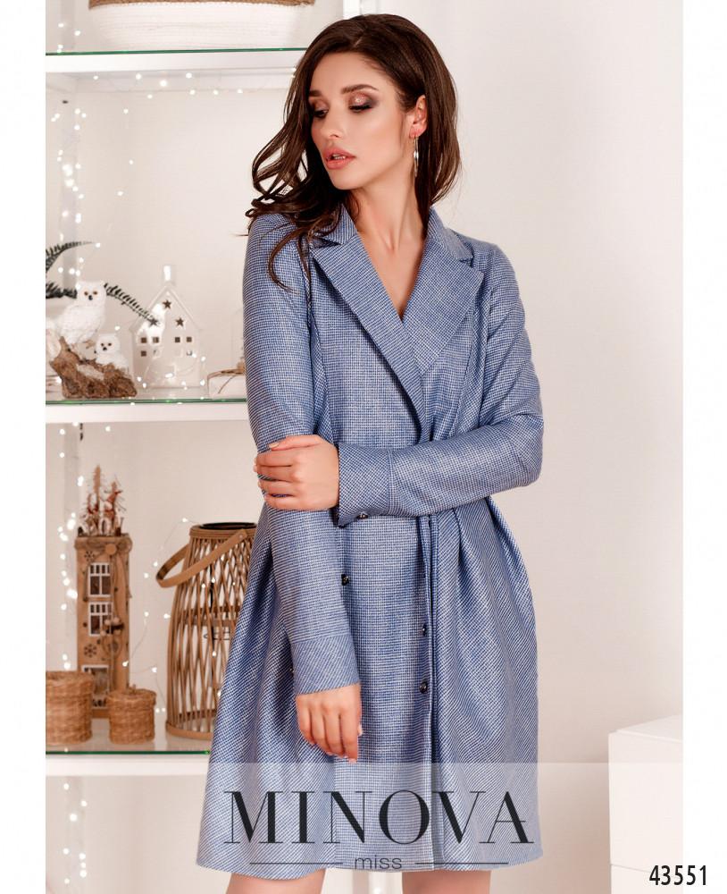 Платье MA222Н-голубой (н)