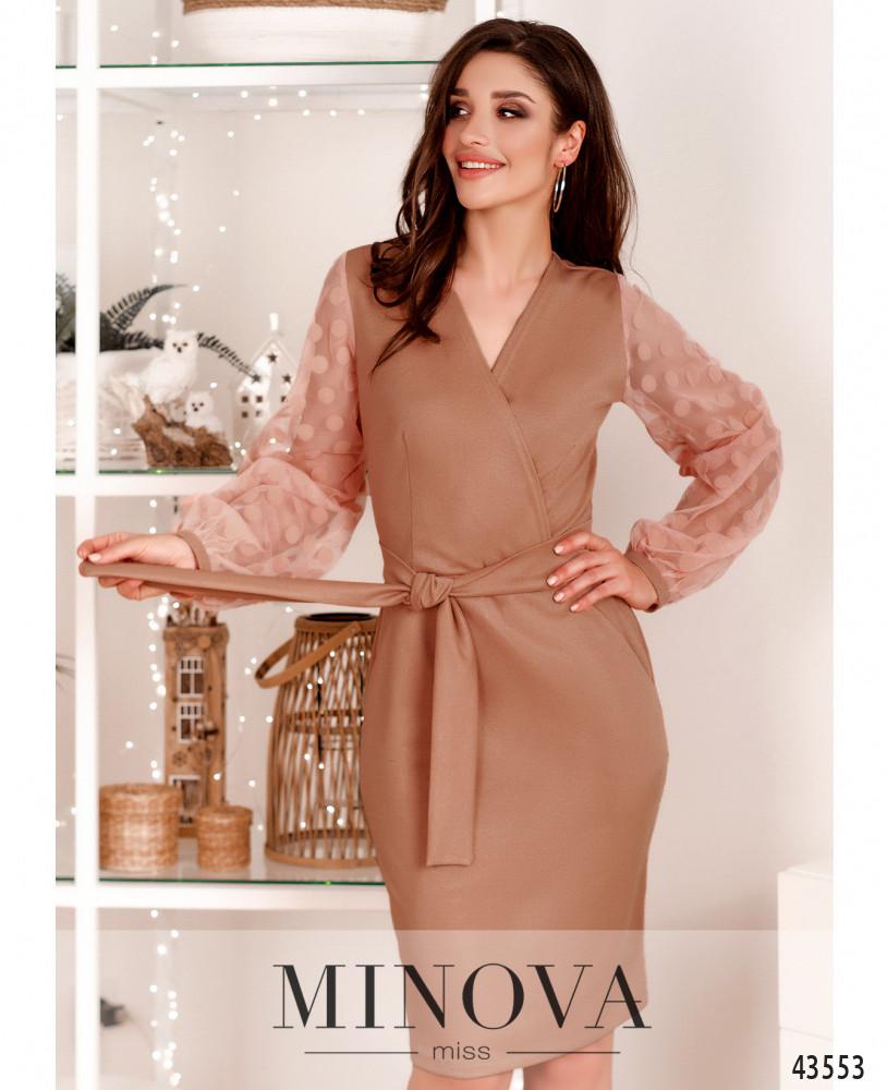 Платье MA531Н-бежевый (н)