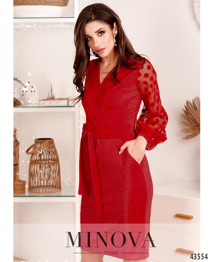 Платье MA531Н-красный (н)