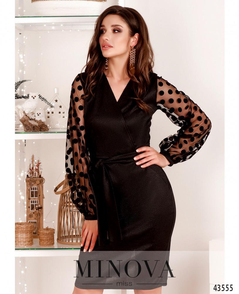 Платье MA531Н-черный (н)