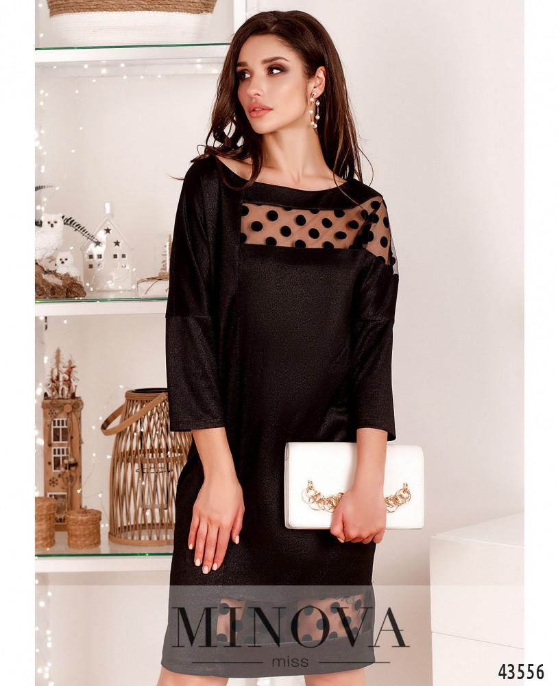 Платье MA532Н-черный (н)