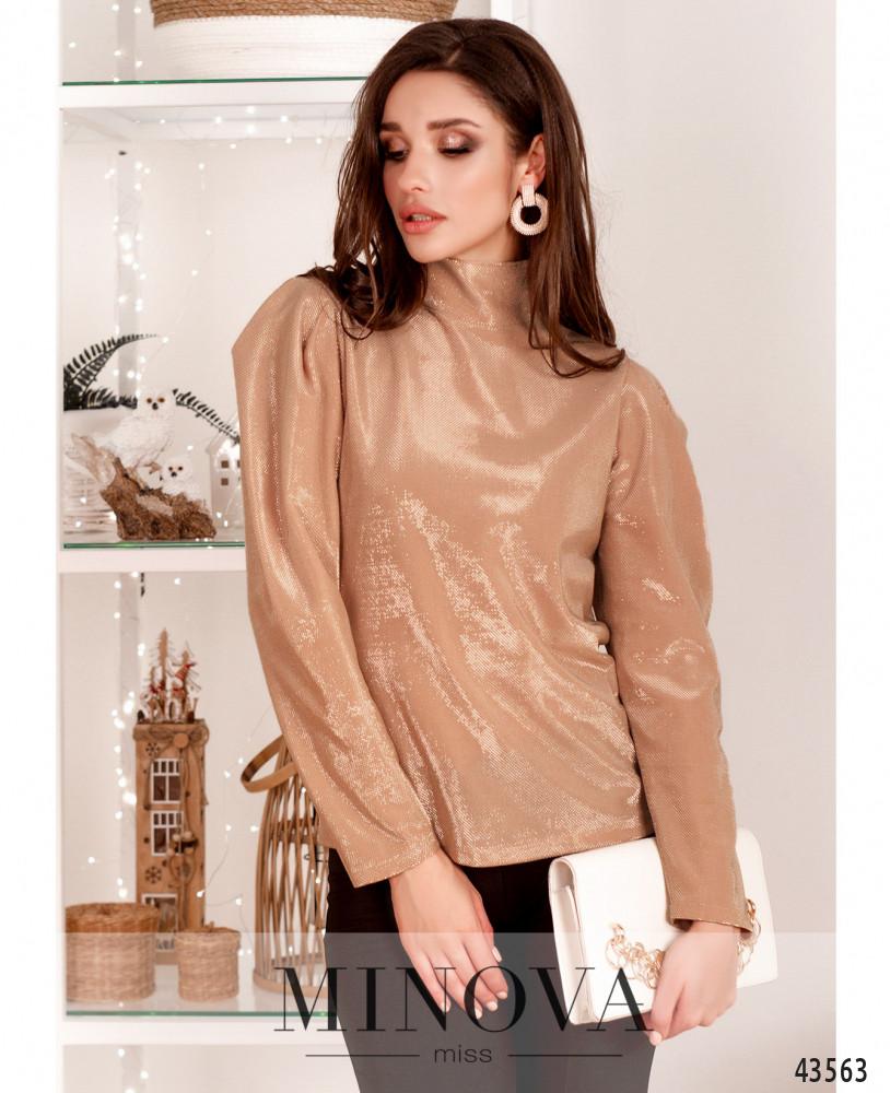 Блуза MA218-пудра (н)