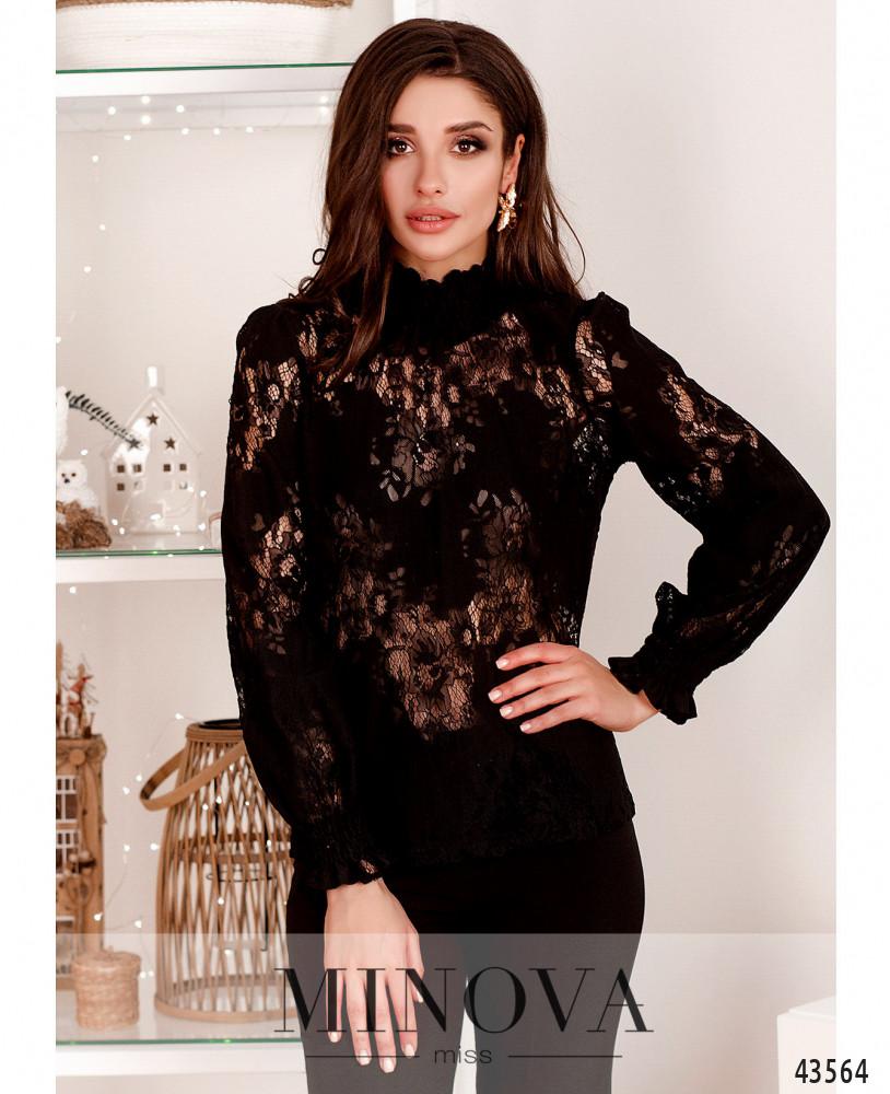 Блуза MA211-черный (н)