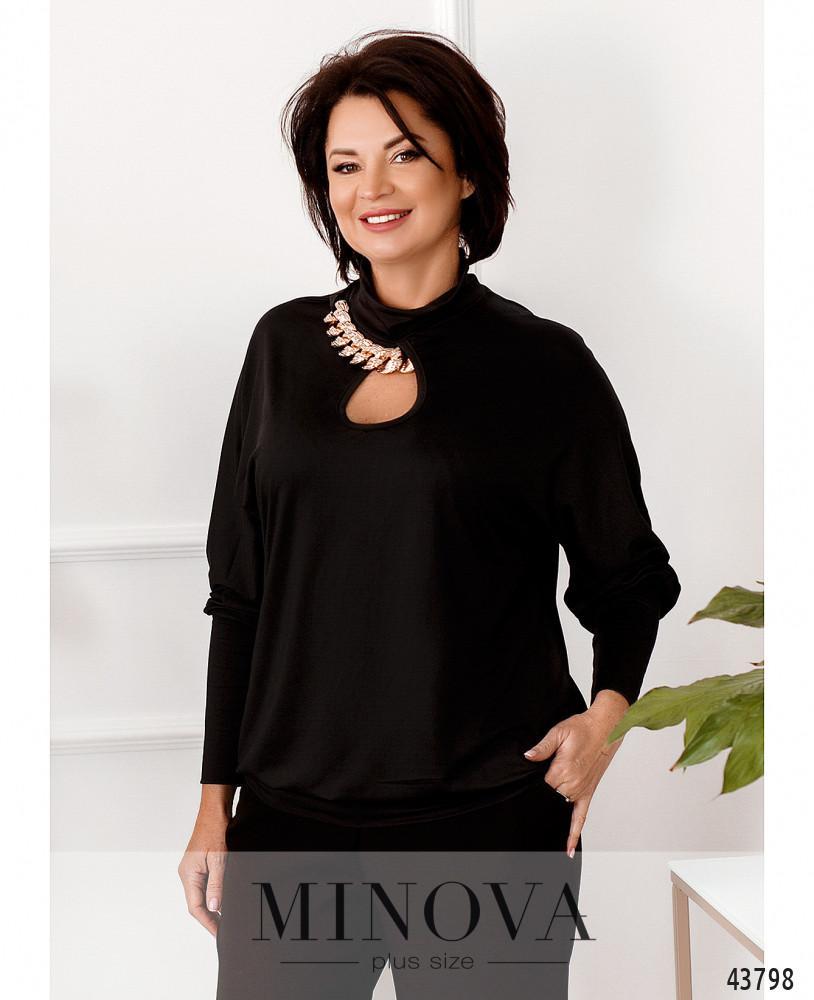 Блуза MA307-черный