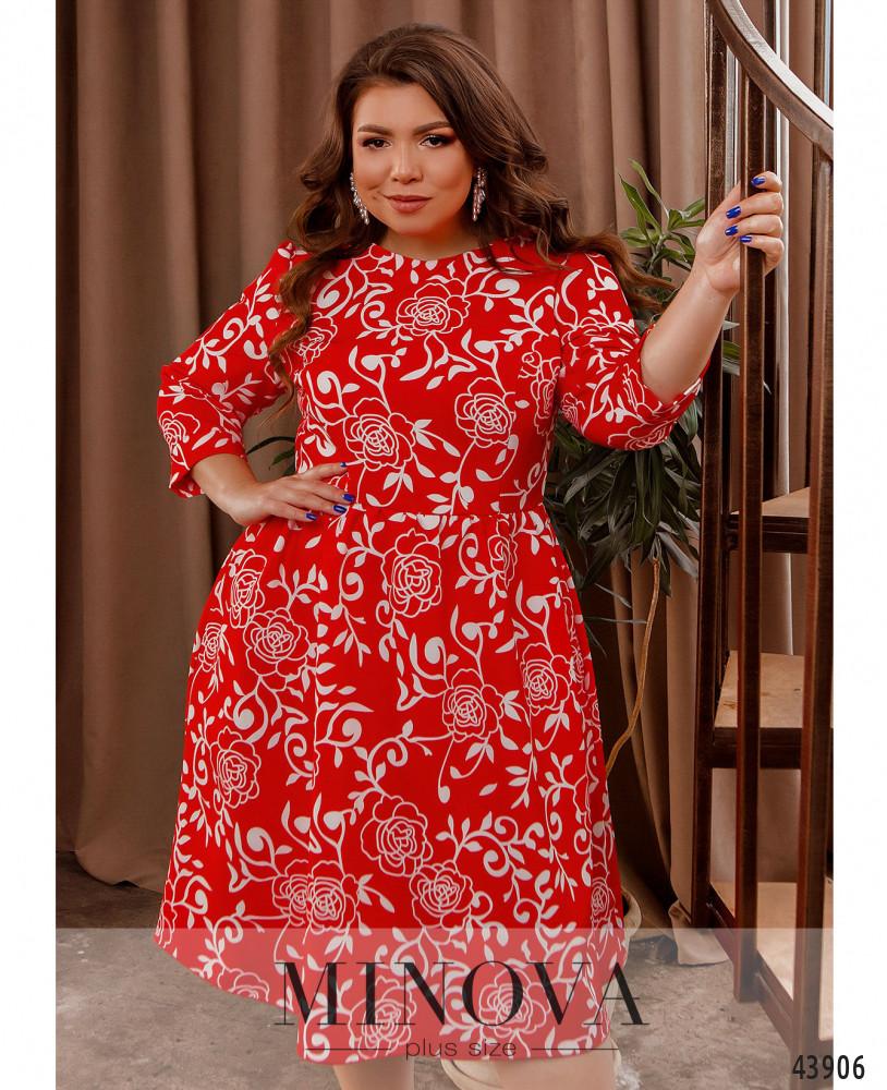 Платье MA2228-красный
