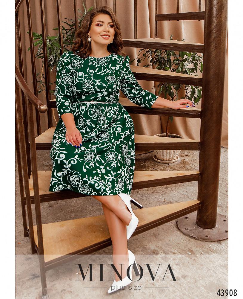 Платье MA2228-зеленый