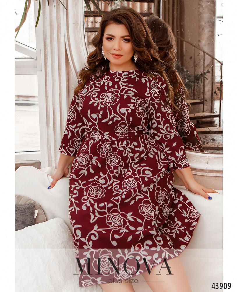 Платье MA2228-бордо