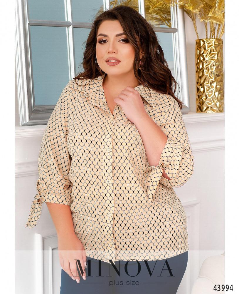 Блуза MA2231-пудра