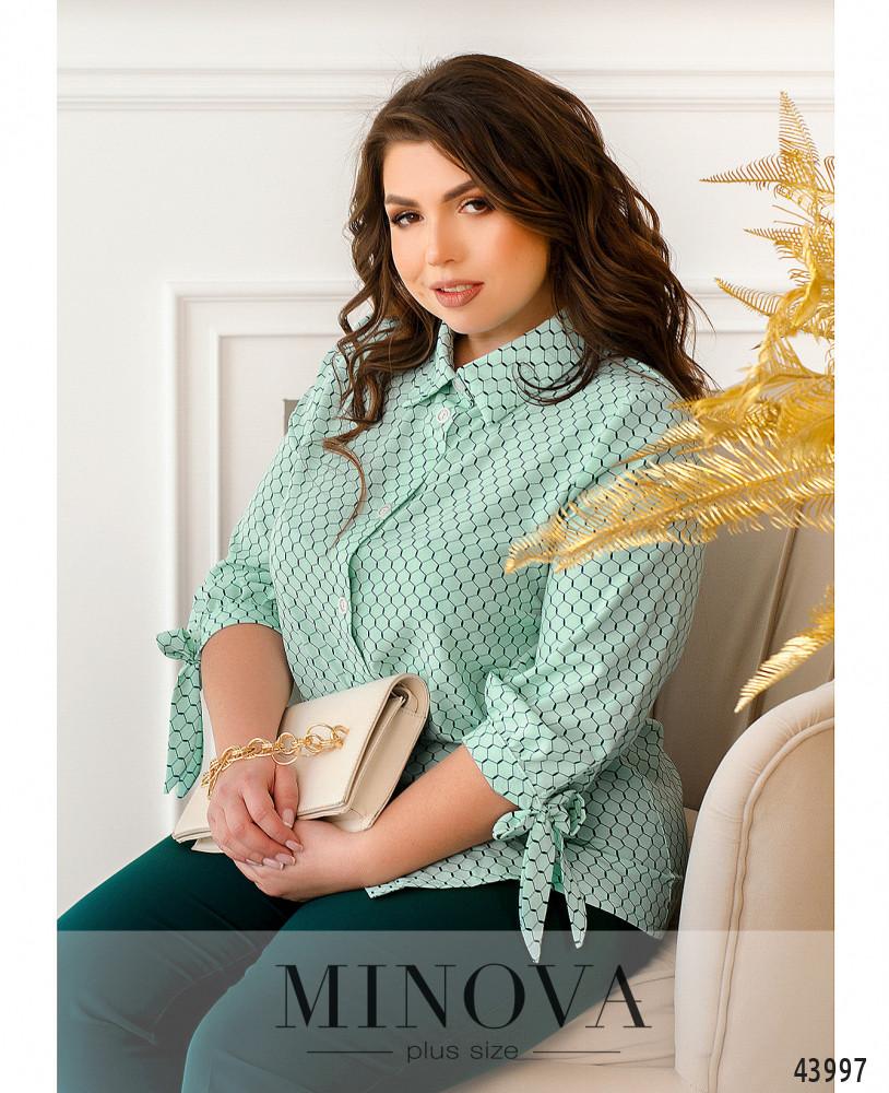 Блуза MA2231-мята