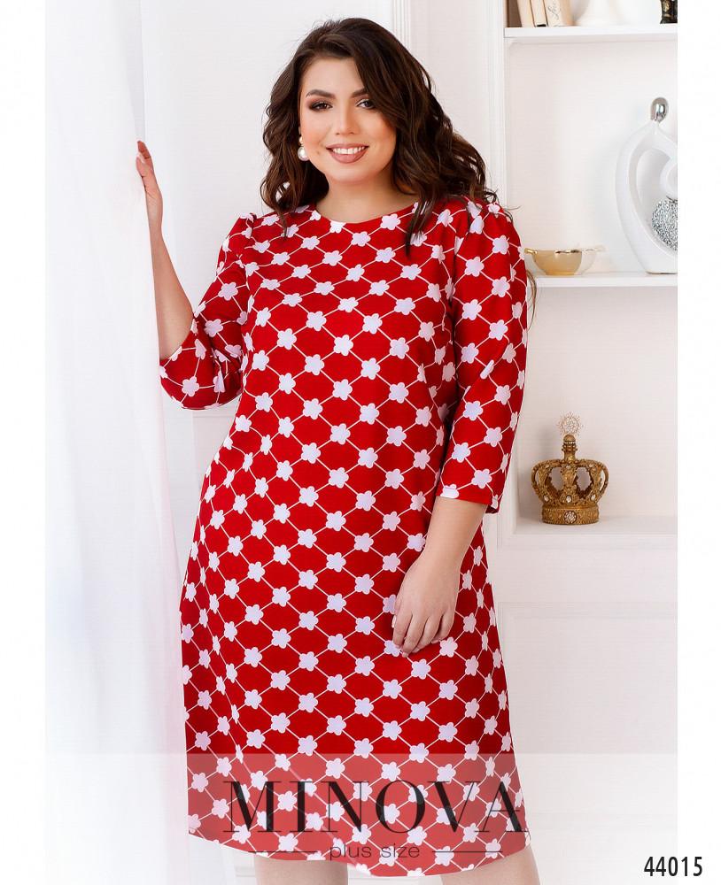Платье MA2234-красный