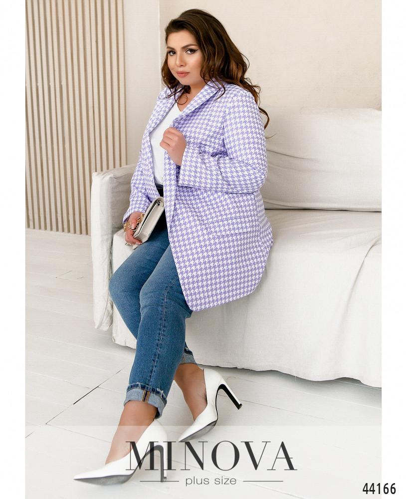 Пиджак MA17246-1-сирень