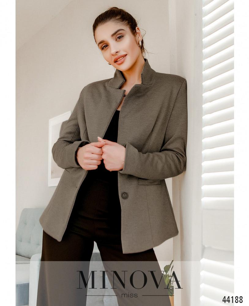 Пиджак MA2154-бежевый (н)