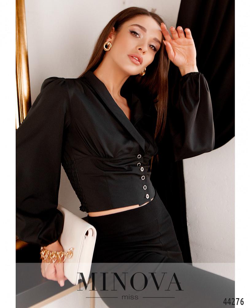 Блуза MA4136Н-чёрный (н)